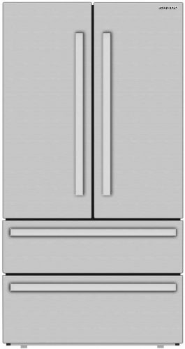 Sharp SJG2351FS 36 Inch French 4-Door Counter | Whirlpool Refrigerator