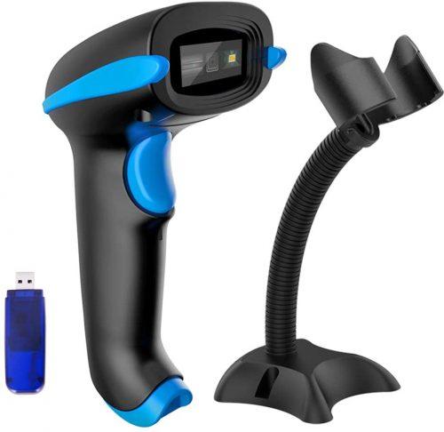 NADAMOO QR Code Scanner Wireless 2D Barcode Scanner| Barcode Scanner