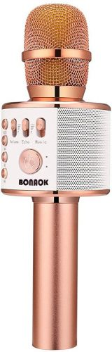 BONAOK Wireless Bluetooth Karaoke Microphone | Cheap Microphones