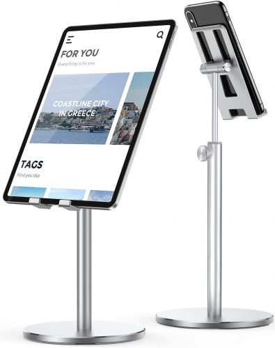 LISEN Tablet Stand, Upgraded Stable iPad Stand Holder| IPAD Stand Holder