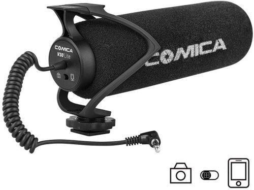 Comica CVM-V30 LITE B Universal Camera Microphone| Directional Microphone