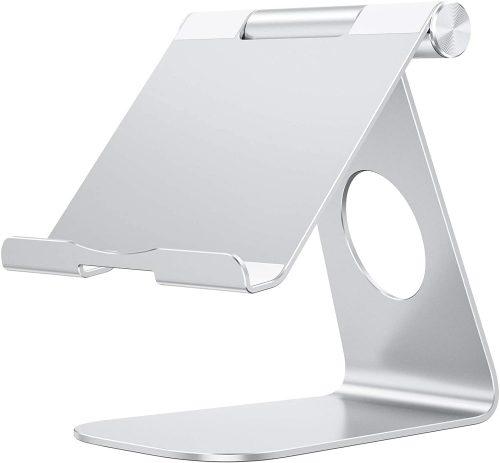 Tablet Stand Holder Adjustable, OMOTON T1 iPad Stand | IPAD Stand Holder