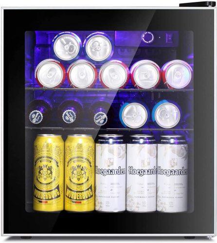 Antarctic Star Mini Fridge Cooler - 60 Can Beverage Refrigerator | Beverage Cooler