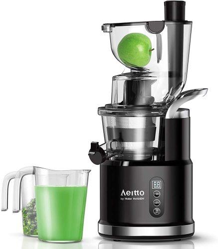 Aeitto Slow Juicer, Slow Masticating Juicer Machine| Masticating Juicer