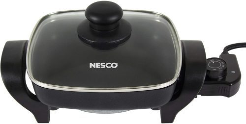 Nesco, Black, ES-08, Electric Skillet, 8 inches, 800 watts | Electric Skillets