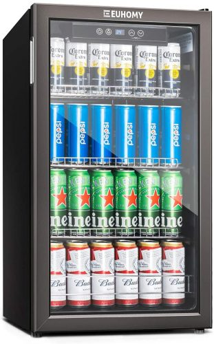 Euhomy Beverage Refrigerator and Cooler | Beverage Cooler