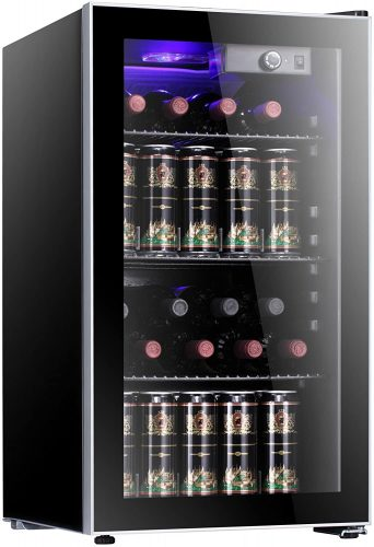 Antarctic Star 26 Bottle Wine Cooler/Cabinet Beverage | Beverage Cooler