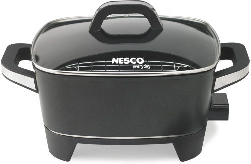 NESCO ES-12, Extra Deep Electric Skillet, Black | Electric Skillets
