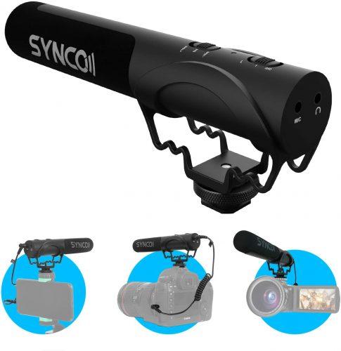 SYNCO Mic-M3 On Camera Shotgun Mic   Shotgun Mic