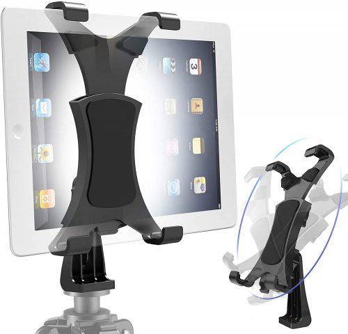 Yoassi Tripod Mount for iPad, Upgraded Universal| IPAD Pro Holder