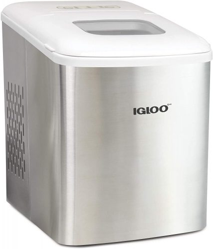 Igloo ICEBNH26SSWL Steel Automatic Self-Cleaning| Ice Maker