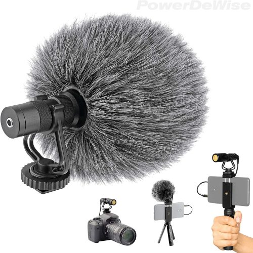 Video Microphone - Unidirectional On-Camera Microphone| Directional Microphone