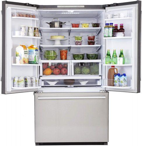 Kucht K748FDS French Door refrigerator, 36 Inch, Stainless Steel | Whirlpool Refrigerator