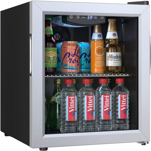 EdgeStar BWC71SS 18 Inch Wide 52 Can Capacity| Beverage Cooler