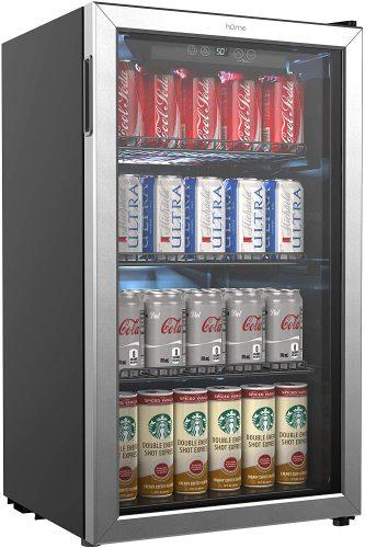 hOmeLabs Beverage Refrigerator and Cooler| Beverage Cooler