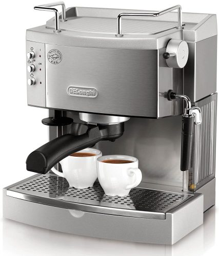 De'Longhi EC702 15-Bar-Pump Espresso Maker, Stainless, Metal | Espresso Machine