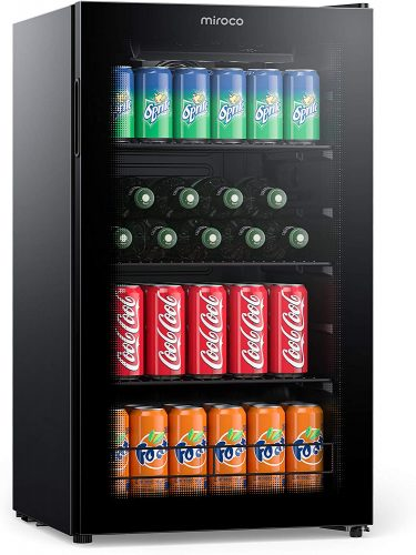 Miroco Beverage Refrigerator Cooler Beer Fridge | Beverage Cooler
