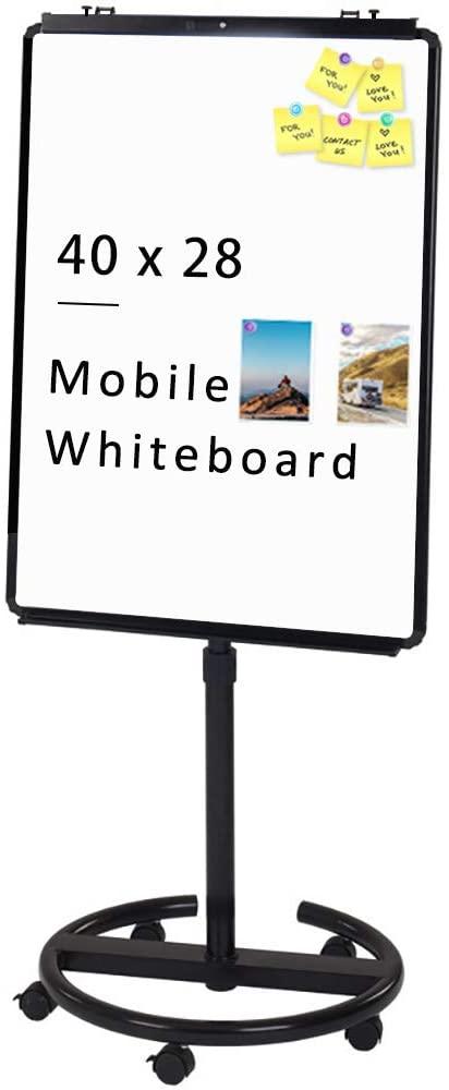 VIZ-PRO Magnetic Mobile Whiteboard  Roller Whiteboards