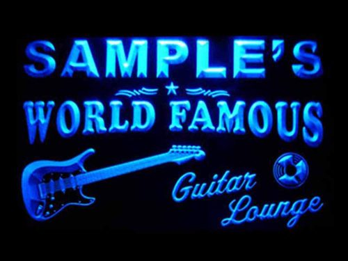 Custome Guitar Band Bar LED by ADVPRO | Custom Lighted Signs