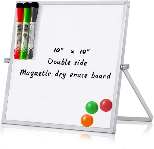 MerLerner Magnetic Adjustable Whiteboard | Mobile Whiteboard