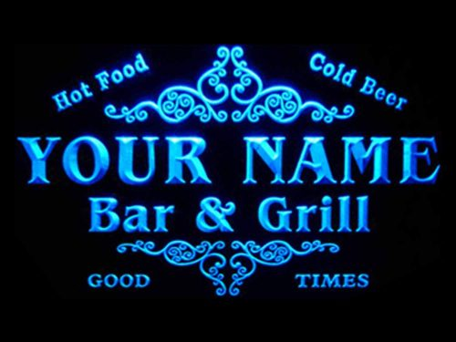 ADVPRO Family Bar and Grill LED Sign | Custom Lighted Signs