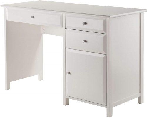 Winsome Wood Delta| White Desk