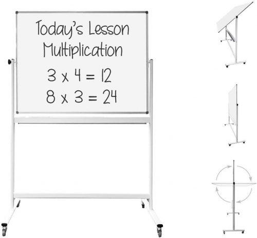 Thornton's Magnetic Mobile Whiteboard   Roller Whiteboards