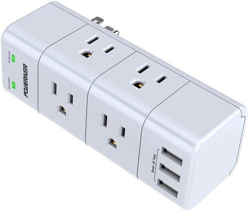 POWERIVER Power Strip| Power Strip