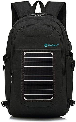 FlexSolar Backpack| Solar Panel Backpacks