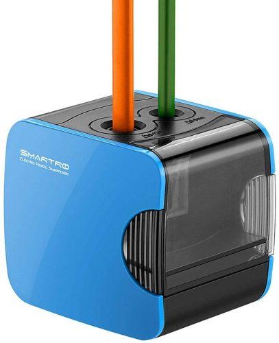 SMARTRO Small Electric Pencil Sharpener| Electric Pencil Sharpeners