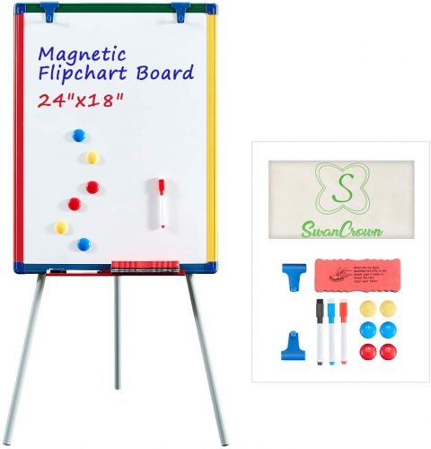 SWANCROWN Magnetic Whiteboard | Mobile Whiteboard
