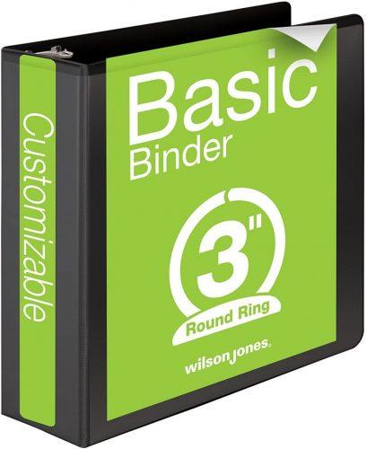 Wilson Jones Ring View Binder | Ring Binders