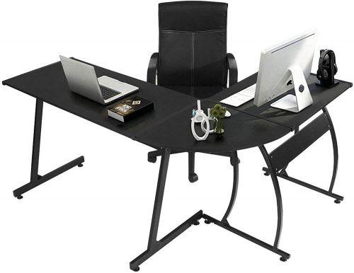 GreenForest L Shaped Gaming Computer Desk 58.1'' | L-Shaped Desktop Desk