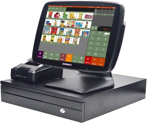 ZHONGJI A3 Touch Screen POS Cash Register| Touch Screen Cash Register