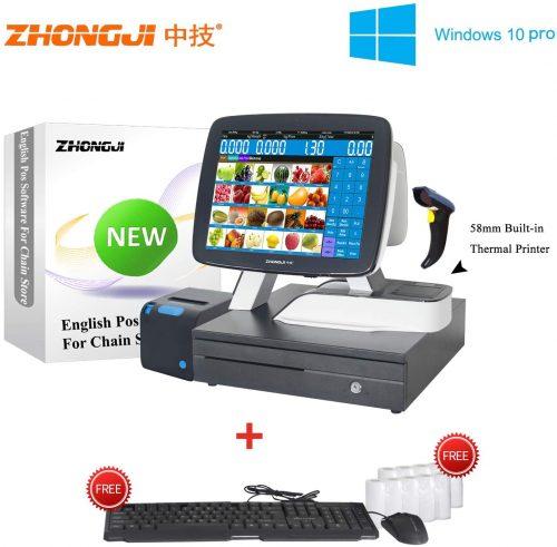 ZHONGJI (A7DP-SET06) Touch Screen Cash Register| Touch Screen Cash Register