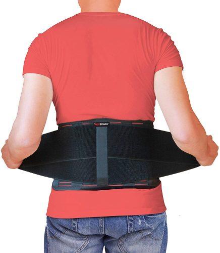 AidBrace Back Brace Support Belt| Back Pillows