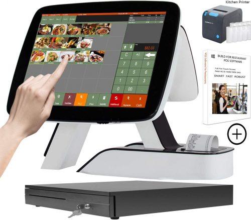 ZHONGJI POS-System Cash Register for Bar & Restaurants | Touch Screen Cash Register