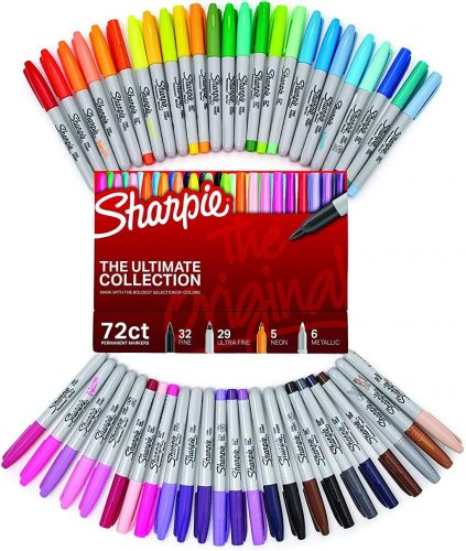 Ultimate Collection Fine and Ultra Fine Point Permanent Markers  Sharpie Markers