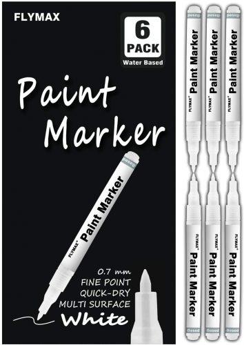 Flymax White Paint Pen| Paint Markers
