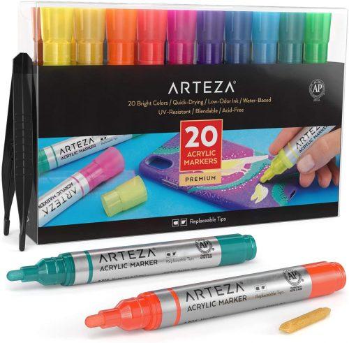 ARTEZA Acrylic Paint Markers| Paint Markers