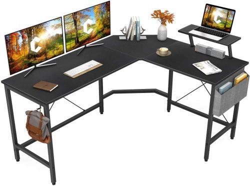 Cubiker Modern L-Shaped Computer Office Desk| L-Shaped Desktop Desk