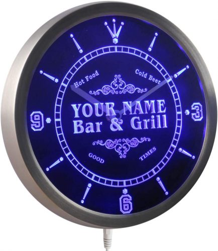 ADVPRO Lighted Sign Clock| Custom Lighted Signs