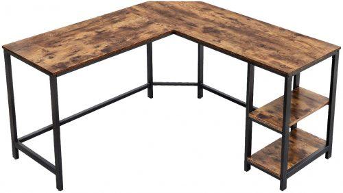VASAGLE L-Shaped Computer Desk| L-Shaped Desktop Desk