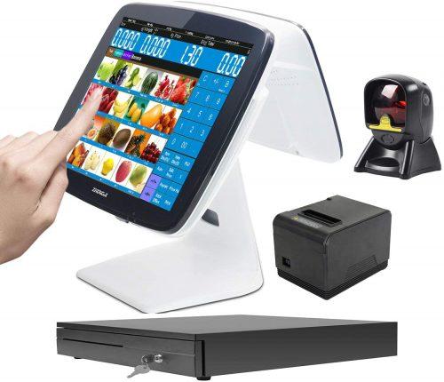 ZHONGJI Latest Touch Screen Cash Register | Touch Screen Cash Register