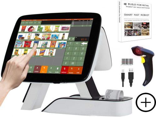 ZHONGJI All-in-One Smart Touch System Cash Register| Touch Screen Cash Register