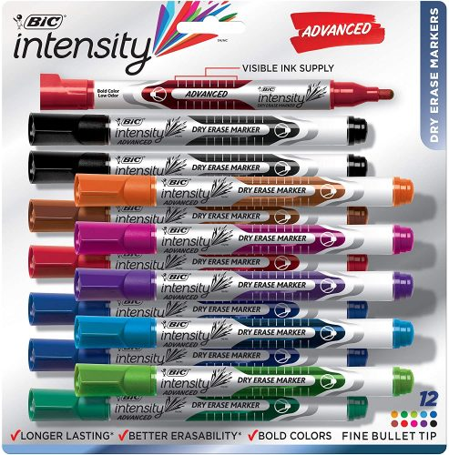 BIC Intensity Advanced Dry Erase Marker   Whiteboard Markers