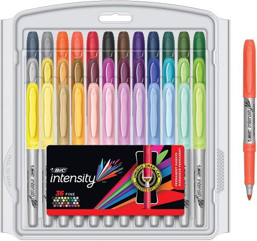 BIC Intensity Fashion Permanent Markers  Permanent Markers
