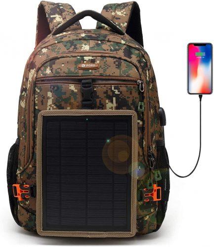 DTBG Solar Panel Backpack | Solar Panel Backpacks