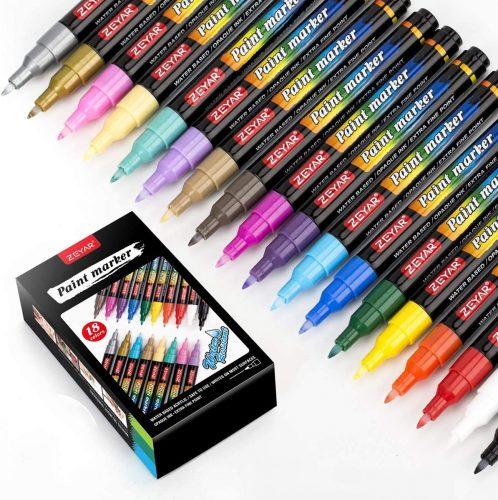 Zeyar Premium Acrylic Paint Pen| Paint Markers