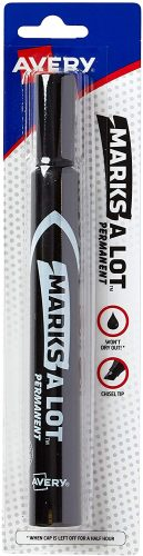 Avery Marks-A-Lot, Large Chisel Tip Permanent Marker| Thick Permanent Markers